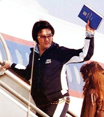 Image result for Elvis presley DEA sweatsuit