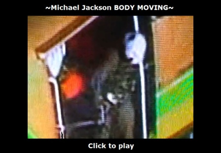 Michael Jackson body moving