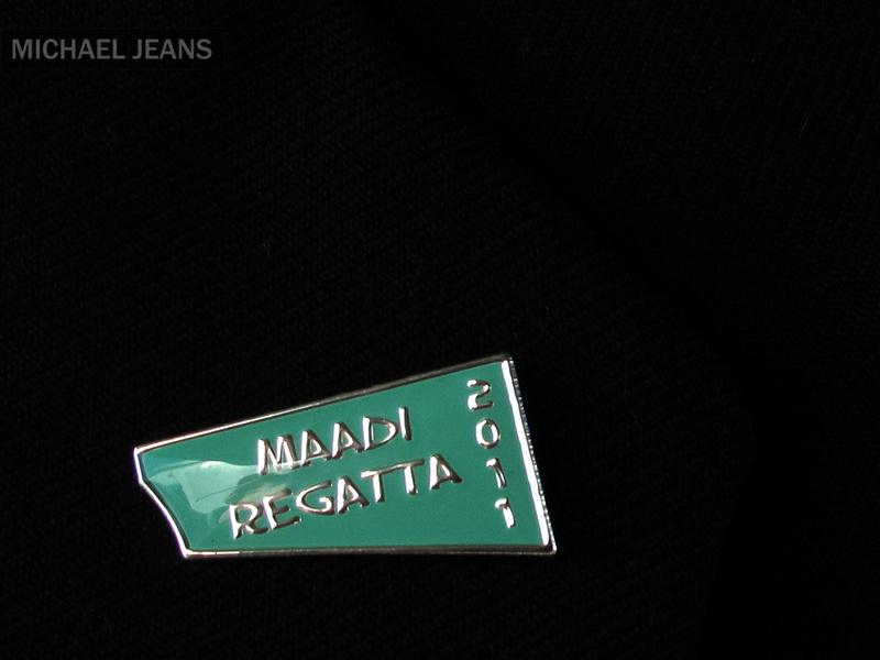 Maadi 2011 lapel pin