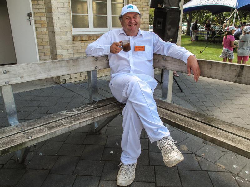 Shane Jones at 2010 Parliamentary & Celebrity Cricket Match
