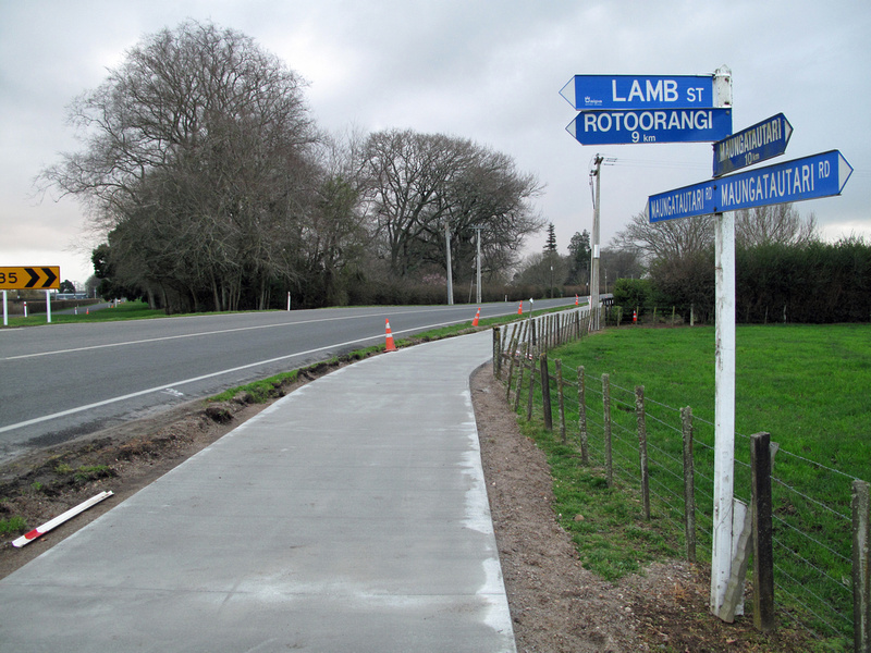 Cambridge NZ to Lake Karapiro cycleway-walkway