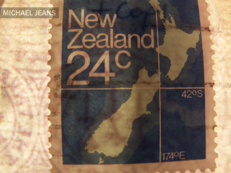 24 cent New Zealand postage stamp