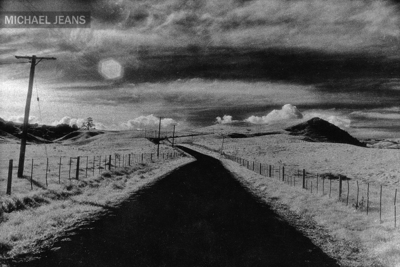 B&W infrared film landscape from 345 Whitehall Road