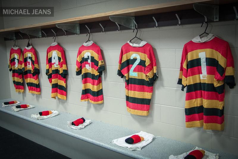 Waikato Rugby Union jerseys Waikato Stadium March 2004