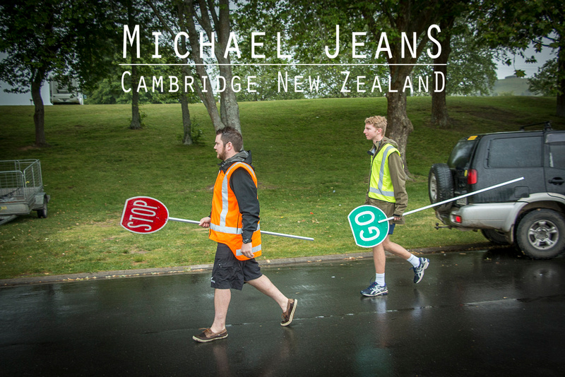 Event marshals Judd Lane Lake Karapiro Domain 15/11/15