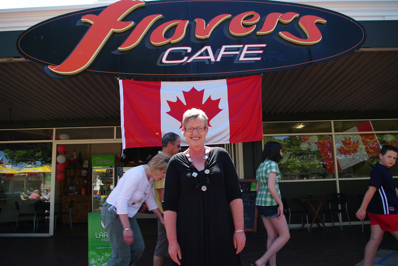 Chris Missen, Flavers Cafe, Cambridge, New Zealand