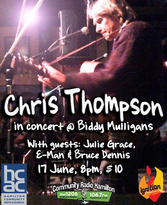 Chris Thompson @ Biddy Mulligans
