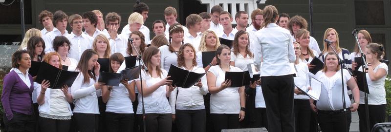 Monavale choir