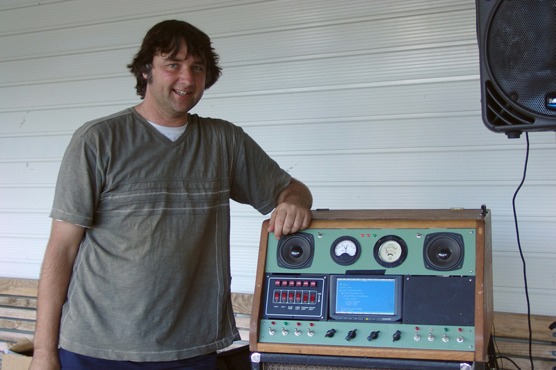 The Trons creator, manager, mechanical engineer & musician Greg Locke