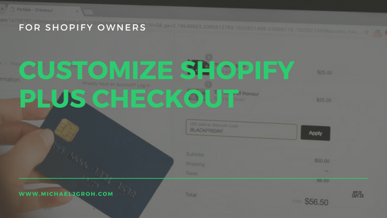 Customize Shopify Checkout Blog Post Image