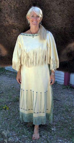 Buckskin Dresses  Michael J Guli Designs