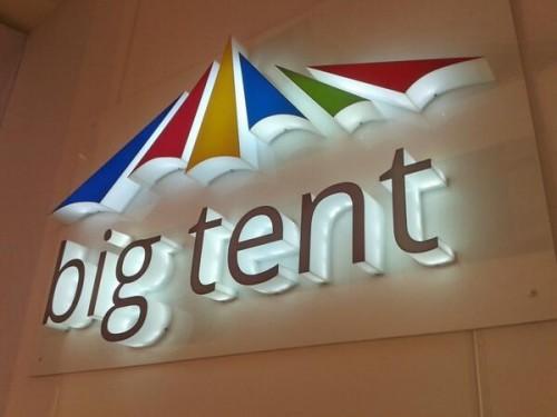 Google Big Tent Logo