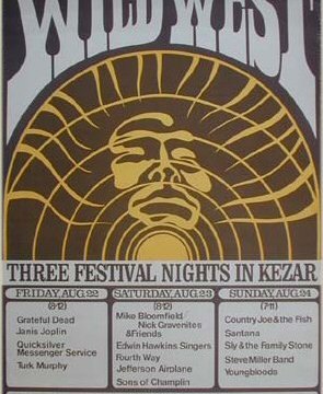 Wild West Festival Poster 1969