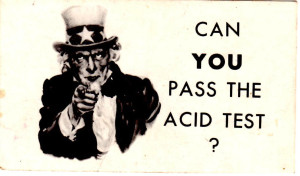 Can You Pass the Acid