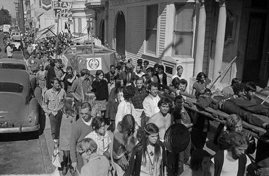Death of Hippie 1967