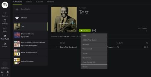Spotify embed url
