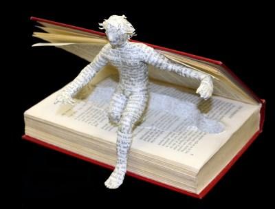 David Lusk Figure In Book After