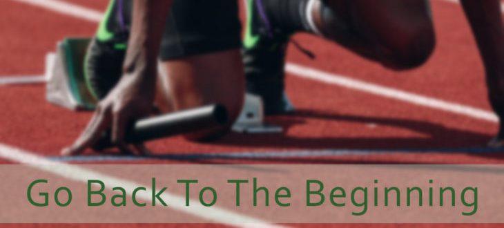 Runner at the Beginning