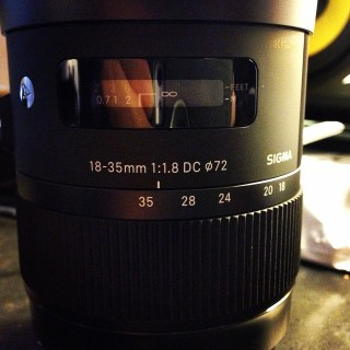 Sigma 18-35 f/1.8 Art Lens. I like my lenses like I like my ladies: Fast and Wide.