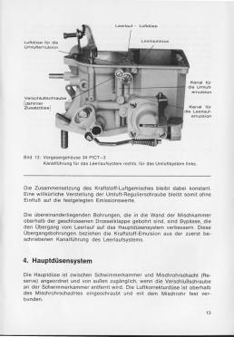 Solex-Fallstromvergaser 30-34 PICT-3 und 31-34 PICT-4