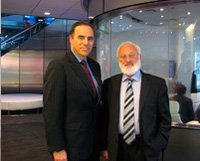"""Interview with Mike Schneider, from """"Night Talk"""", on Bloomberg TV"""