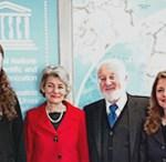 Meeting with Director-General of UNESCO, Paris 2011