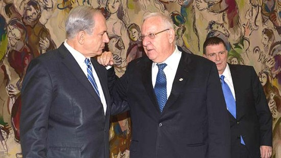 netanyahu-and-rivlin