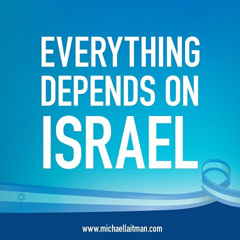 facebook1 - everything depends on israel - post