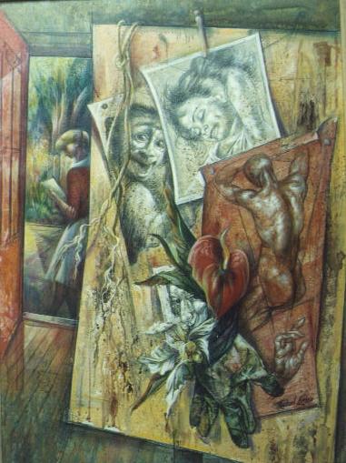 Michael LensonWPA realist painter