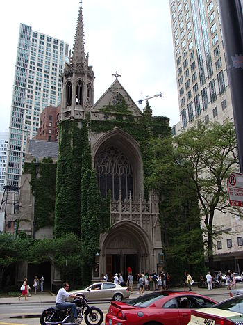 English: Fourth Presbyterian Church in Chicago...