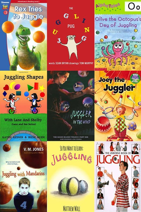 Juggling Books Image