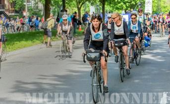 Suzanne Lareau - Tour de l'ile montréal - Grand Départ - 9 h 1