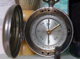 Antique compass