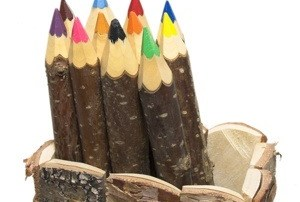 Colored Wooden Pencils