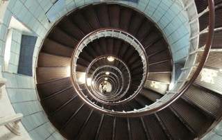 Spiral Staircase of LightHouse