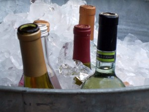 Bottles on Ice
