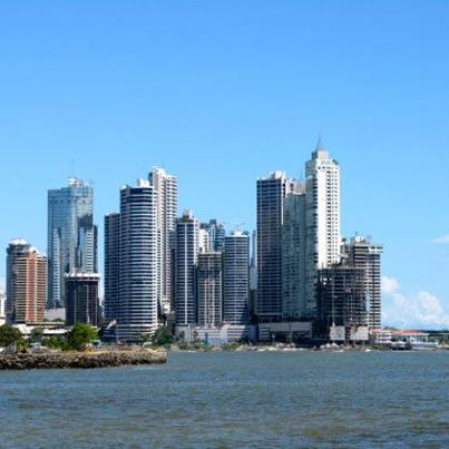 Panama City has many modern condos, casinos and concrete towers.