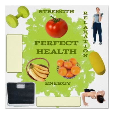 Vision Board for Perfect Health