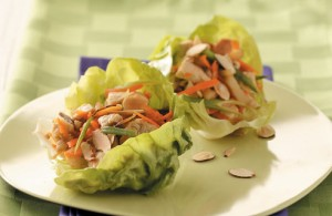 Wraps Made From Lettuce