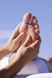 Massaging the Foot