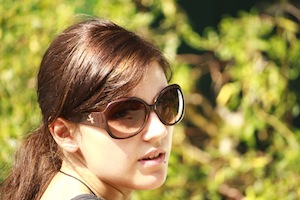 Sunglasses on Woman