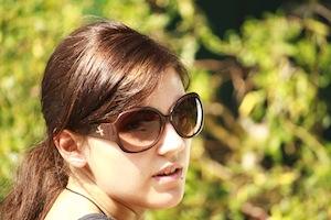 Sunglasses on Woman