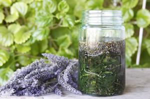 Lavender in Jar
