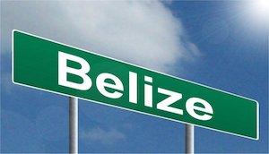 Sign of Belize