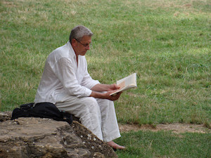 Reading Man