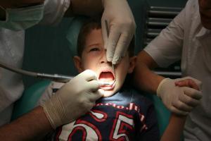 Child in Dental Pain