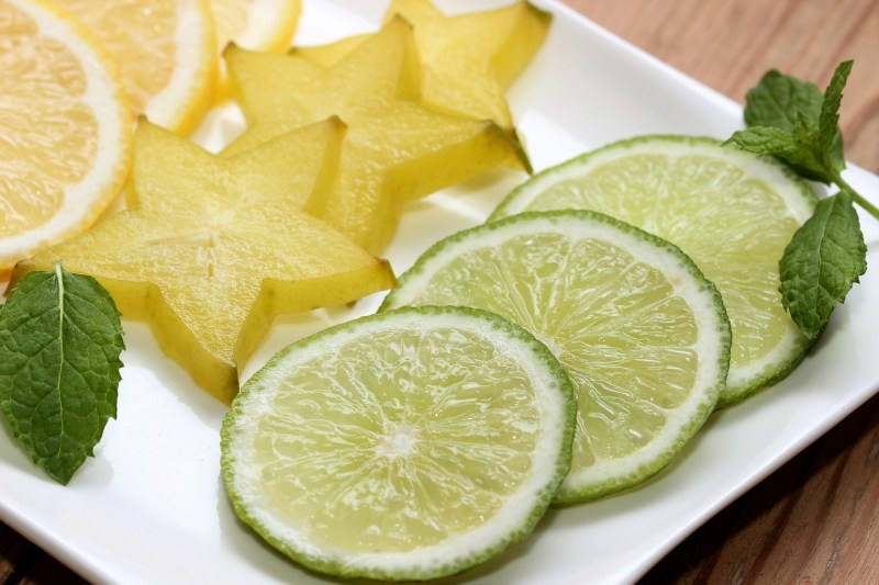 Limone Lime Star Fruit Lemon Mint