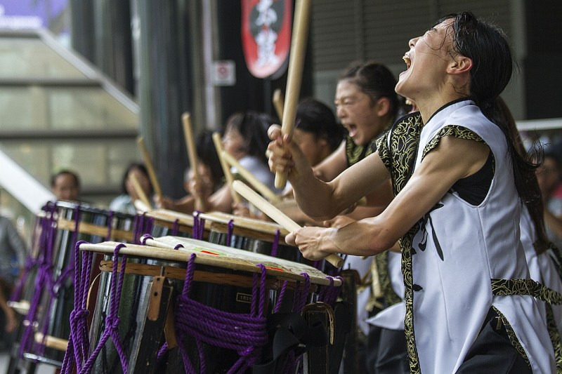 Asian Drums Band Music Event
