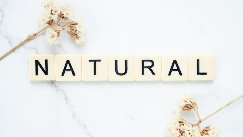 Natural Herbal Flowers Word