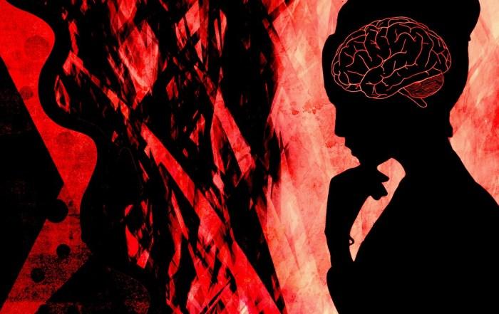Woman Brain Depression Mind